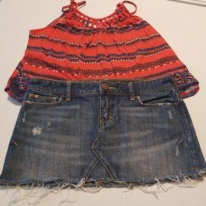 Abercrombie & Fitch Mini Skirt